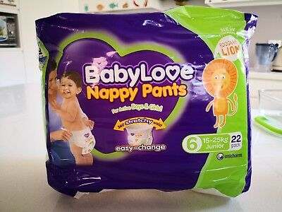 Babylove Nappy Pants Junior 22 Pack