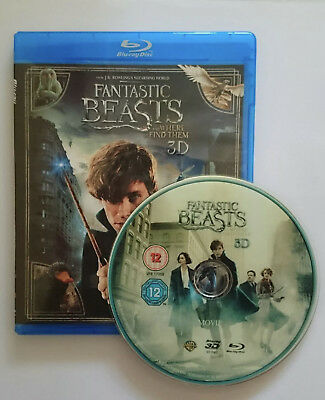 Fantastic Beasts and Where to Find Them  3D Blu-ray Region Free Best Deal