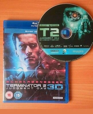 Terminator 2 Judgment Day 3D Blu-ray Region Free Buy Now Best Deal