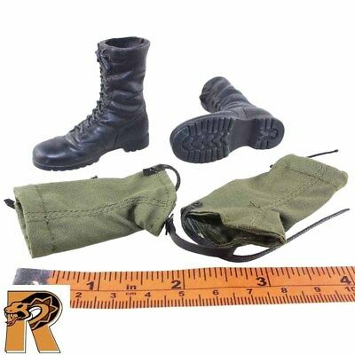 Pete Winner - Boots (for Feet) w/ Leggings - 1/6 Scale - Dragon Action Figures