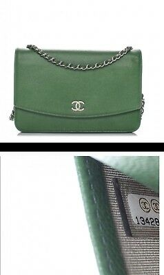 a7c5d7617fb0 RIP KARL LAGERFELD. Authentic CHANEL Sevruga Wallet On Chain ...