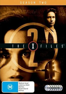 The X-Files : Season 2 (DVD, 2007, 7-Disc Set)*R4*Terrific Condition*