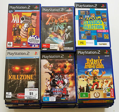(Fully Tested) Sony PlayStation 2 PS2 Games, Bulk Lot, Please Choose