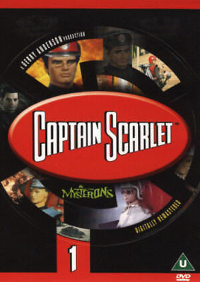 Captain Scarlet and the Mysterons: 1 -  [DVD] *New & Factory Sealed*