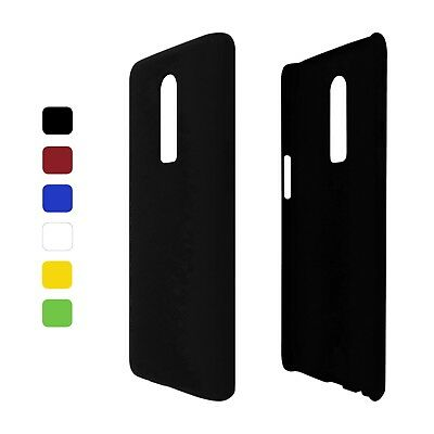 Case Hard Rubberised for one plus 6 Case Cover Phone Cover Case