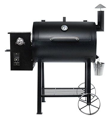 Pit Boss 71822 Barbeque a Pellet, Nero, 122 x 68 x 128 cm