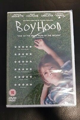 Boyhood DVD Brand NEW & Sealed - FAST & FREE DELIVERY