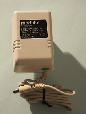 NEW Genuine MEDELA POWER ADAPTER Power Cord 9200043 Model D41-4.8-800