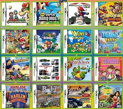 YOUR PICK 200 Games  in One Nintendo DS/DSi/3DS/3DS XL -Boys