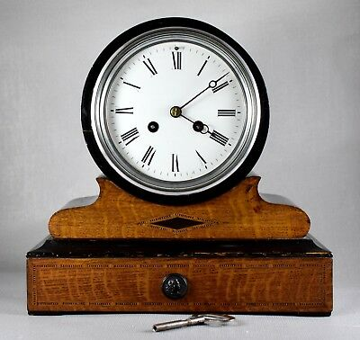 FRENCH MANTEL CLOCK WITH VINCENTI MOVEMENT c1870