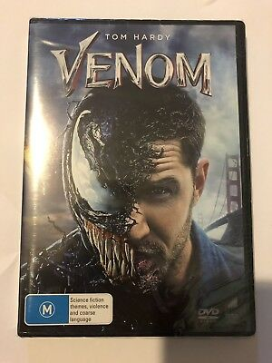 Venom (DVD, 2019) Brand NEW & Sealed Region 4 Marvel Movie 🍿 Tom Hardy