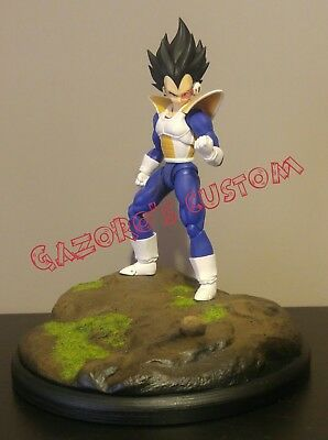 DRAGON BALL Z S.H. FIGUARTS diorama base Earth Goku Vegeta Piccolo Tenshinhan