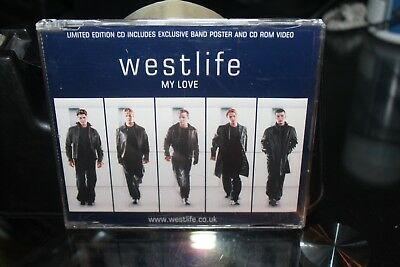 Westlife - My Love - Ltd Edition Cd Single - No Poster  (Box F3)