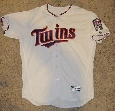 190f1d9a5 2018 Miguel Sano Game Used Home Run Jersey TWINS Photomatched MLB  Authenticated