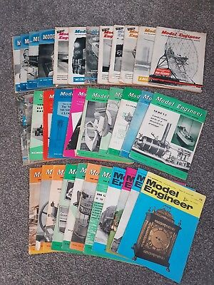 Model Engineer Magazines, Assorted 1955-1968 (34 Editions)