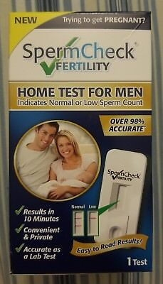 SpermCheck Fertility Home Test for Men 1 test