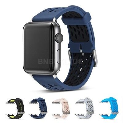 Sports Ventilation Plus Band Wrist Strap For Apple Watch (Series 1/2 & 3)