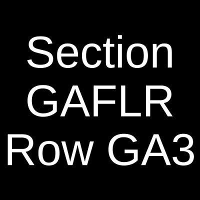 2 Tickets Muse 4/2/19 Capital One Arena Washington, DC