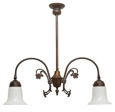 Beautiful Art Nouveau Brass Lamp Berlin Ceiling Lights Country Home