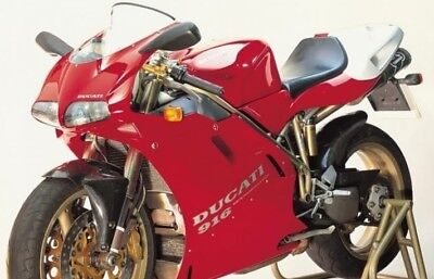 Manuale officina Ducati 748-748 S-748 SP-916-916 SP-916 Senna