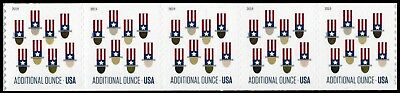 2019 US Stamp - Uncle Sam's Hat - Coil Strip of 5 - SC# 5341