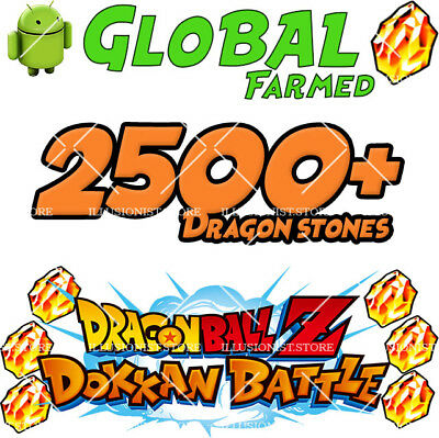 🌟Android - Dokkan Battle - Broly LR with 2500+ Dragon Stones - Global