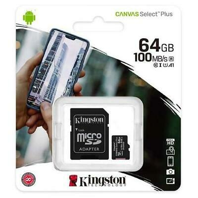 Kingston 64GB Micro SD Memory Card For GoPro Hero+LCD Action Camera
