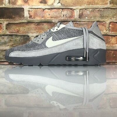 purchase cheap 5f599 3bba1 Nike Air Max 90 Ultra 2.0 Flyknit Hommes Taille 10 Atmosphere Grey Clair OS