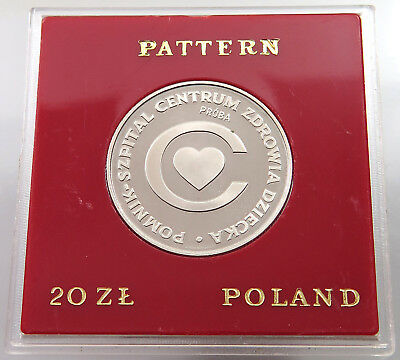 POLAND 20 ZLOTYCH 1979 PROBA  PROOF  #alb30 417