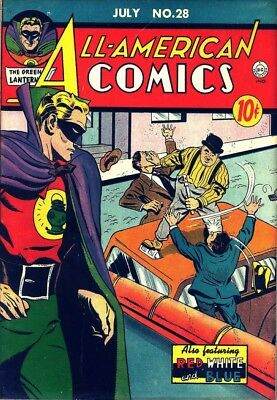 All-American Comics vintage (1939-1948) collection on DVD