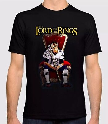 New England Patriots Tom Brady With Lord Of The Rings Custom Shirt
