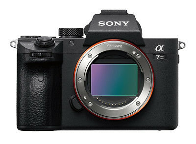 NEW Sony Alpha A7 III A7III MARK 3 24.2MP Digital Camera  ILCE7M3 UK RM SPECIALD
