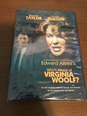 Whos Afraid of Virginia Woolf (DVD Full Frame and Letterboxed Versions) NEW BIN