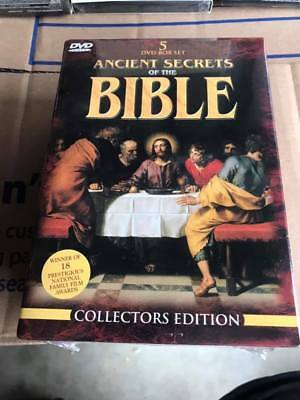 Ancient Secrets of the Bible Box Set DVD - Brand New, Never Opened