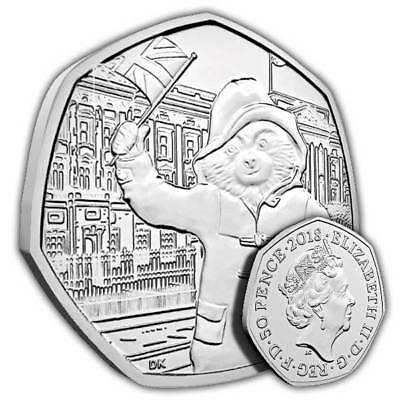 50p Coin - Paddington Bear at Buckingham Place-Fifty Pence-2018 New Uncirculated