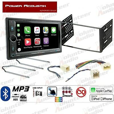 Power Acoustik PCD 52B Double Din Car Stereo Radio mercury w mach amp oem premium stock radio harness stereo 98 up