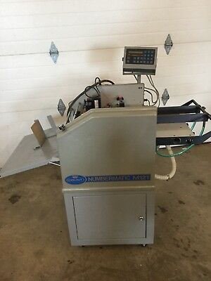 Count Numbering Machine Air Fed 2 Heads