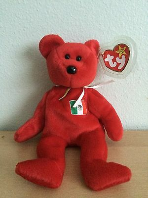 1999 Osito Ty Beanie Baby Bear With Tag Protector