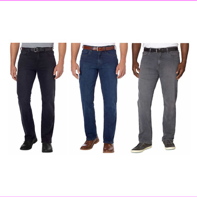 Urban Star Men's Straight Leg Relaxed Fit Jeans