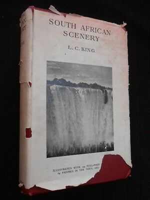 South African Scenery: L C King - 1942-1st - Africa, A Textbook of Geomorphology