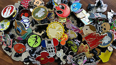 Disney World trading pin lot 50 booster Hidden Mickey booster mystery pins