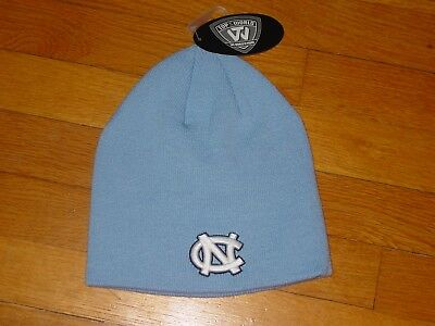 bd75162ff3c UNC NORTH CAROLINA TAR HEELS Embroidered KNIT HAT NEW One Size Fits All OSFA