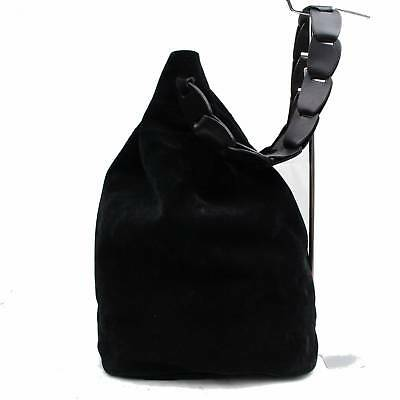 83b6353db2a0 AUTHENTIC GUCCI BACK Pack Black Suede Leather 364755 -  45.00