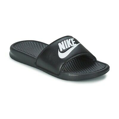 59762d3013 CIABATTE UOMO NIKE BENASSI JUST DO IT Nero Sintetico Nike 827291M ...