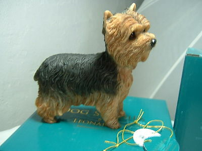 Yorkshire Terrier Yorkie dog dogs 12cm boxed leonardo collection
