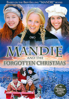 NEW Sealed Christian Family Widescreen DVD! Mandie and the Forgotten Christmas