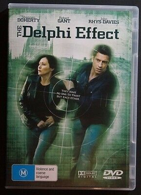 The Delphi Effect (DVD, 2008) Action, Espionage