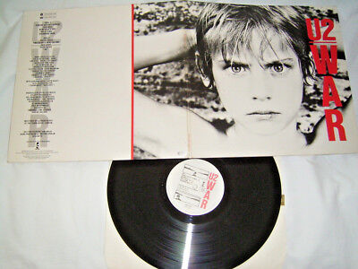 LP - U2 War - 1983 FOC - Sunday Bloody Sunday # cleaned