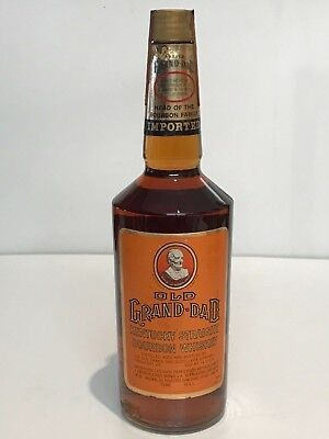 OLD GRAND-DAD IMPORTED KENTUCKY STRAIGHT WHISKEY BOURBON  80 PROOF 75cl.