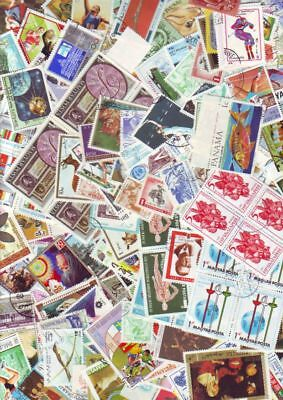 1000 topical stamps worldwide lot